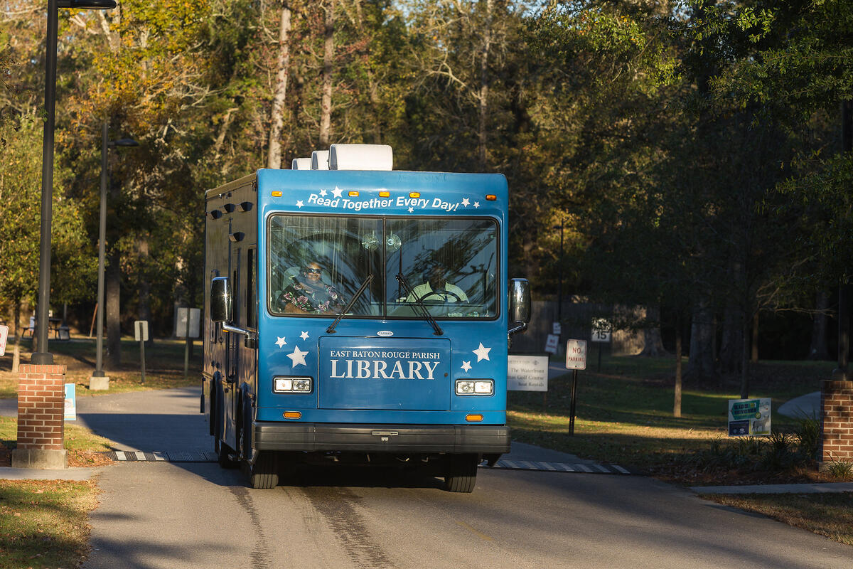 Bookmobile East Baton Rouge Parish