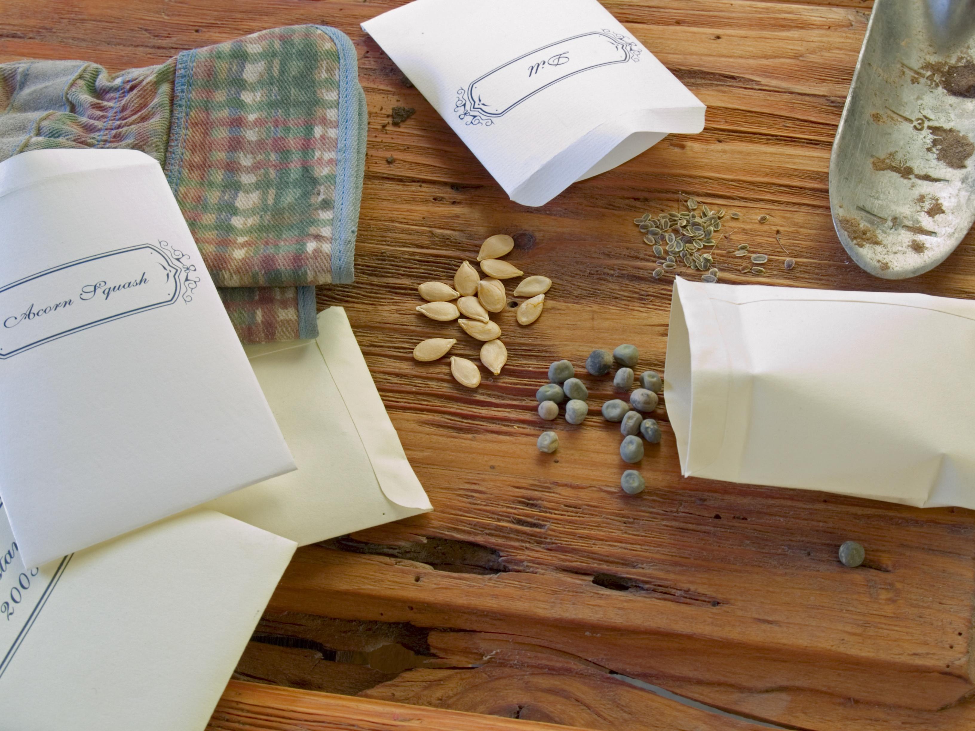 Heirloom Seed Packets