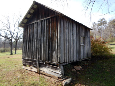 Image of an old shed