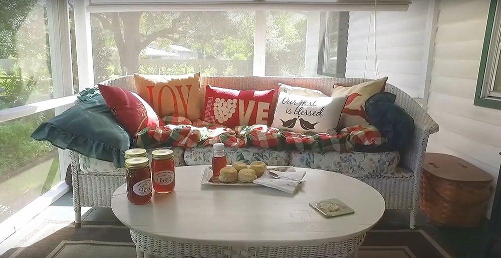 Karma Acres Biscuits Honey
