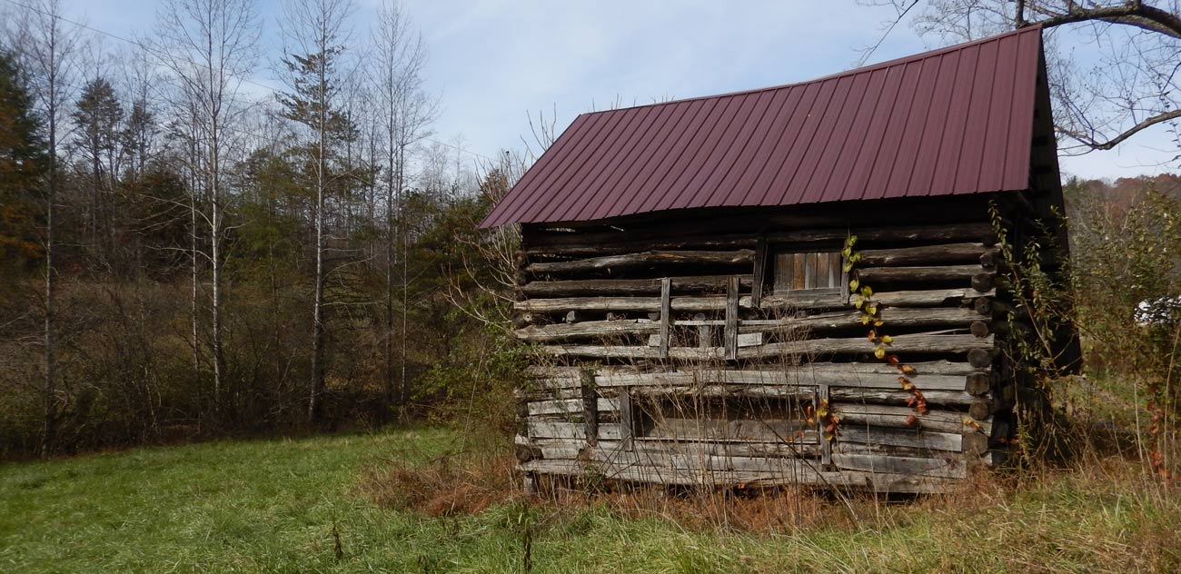 Old barn on a homestead