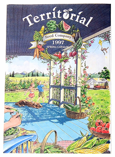 Territorial Seed Catalog Cover 1997
