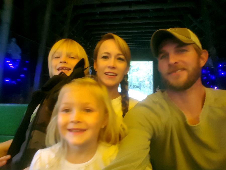 Nick Ball and family