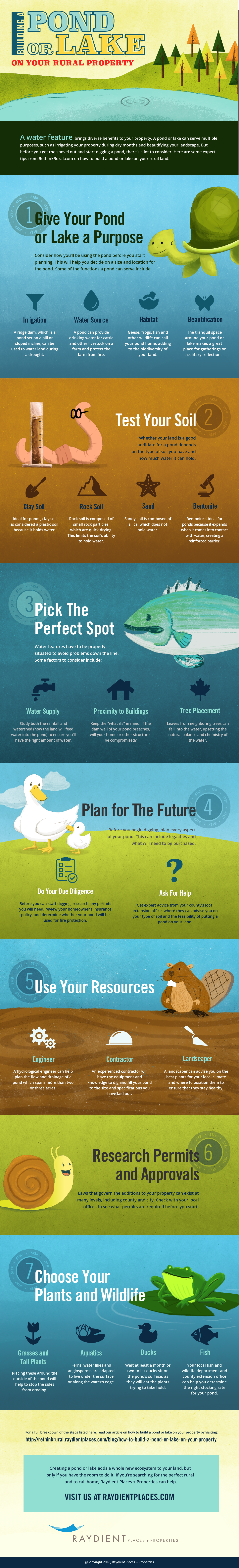 How to Build a Pond or Lake on Rural Property Infographic.png