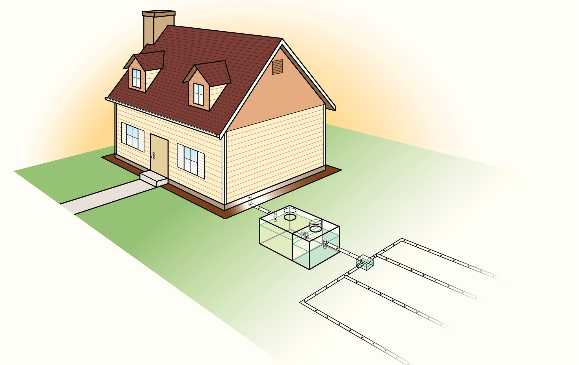 Nassau Home Septic Diagram
