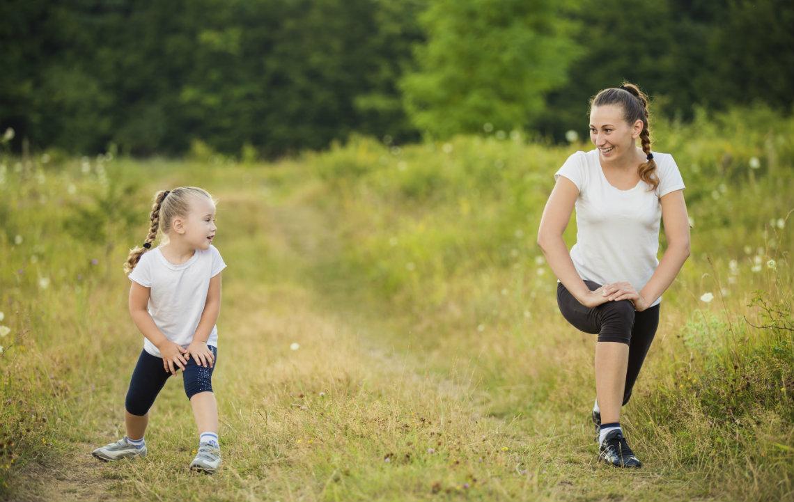 Outdoor Exercise Benefits Kids