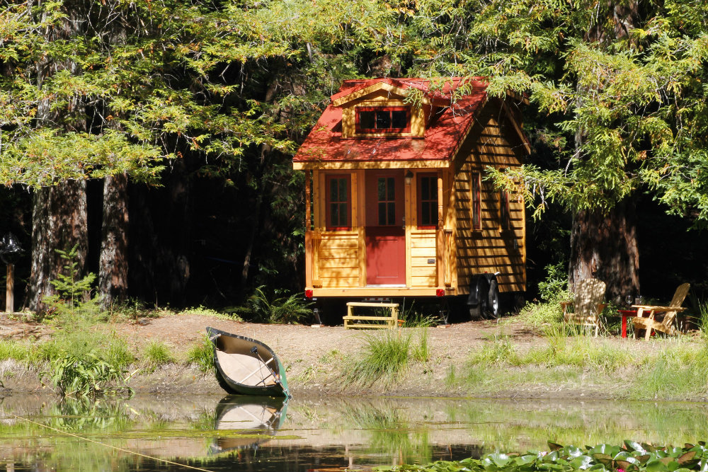 Tumbleweed Linden tiny house