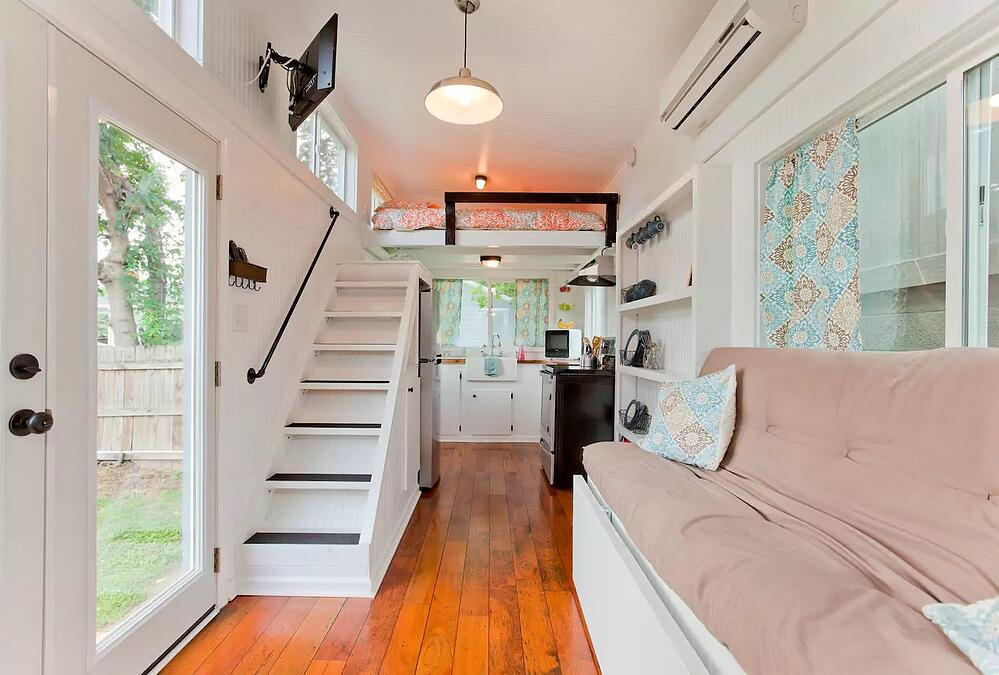 Music City Tennessee Tiny Home Inside