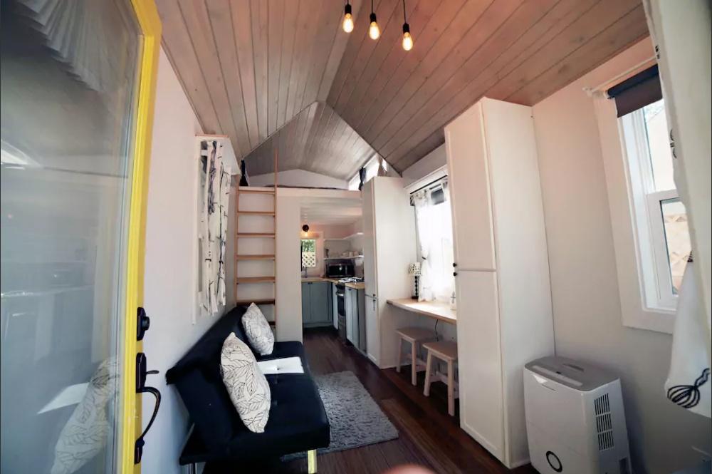 Cedar House Tiny House Inside