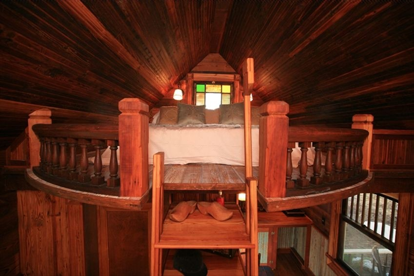 Texas Tiny House King Bed