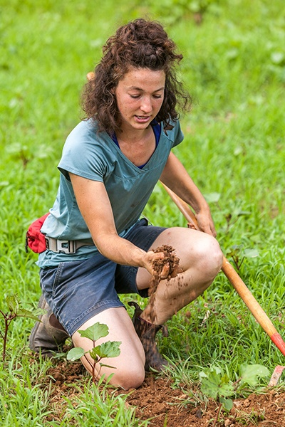 Female farmer Brinton Fox