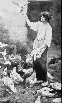 Homesteading Woman