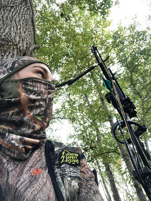 bow hunting for women