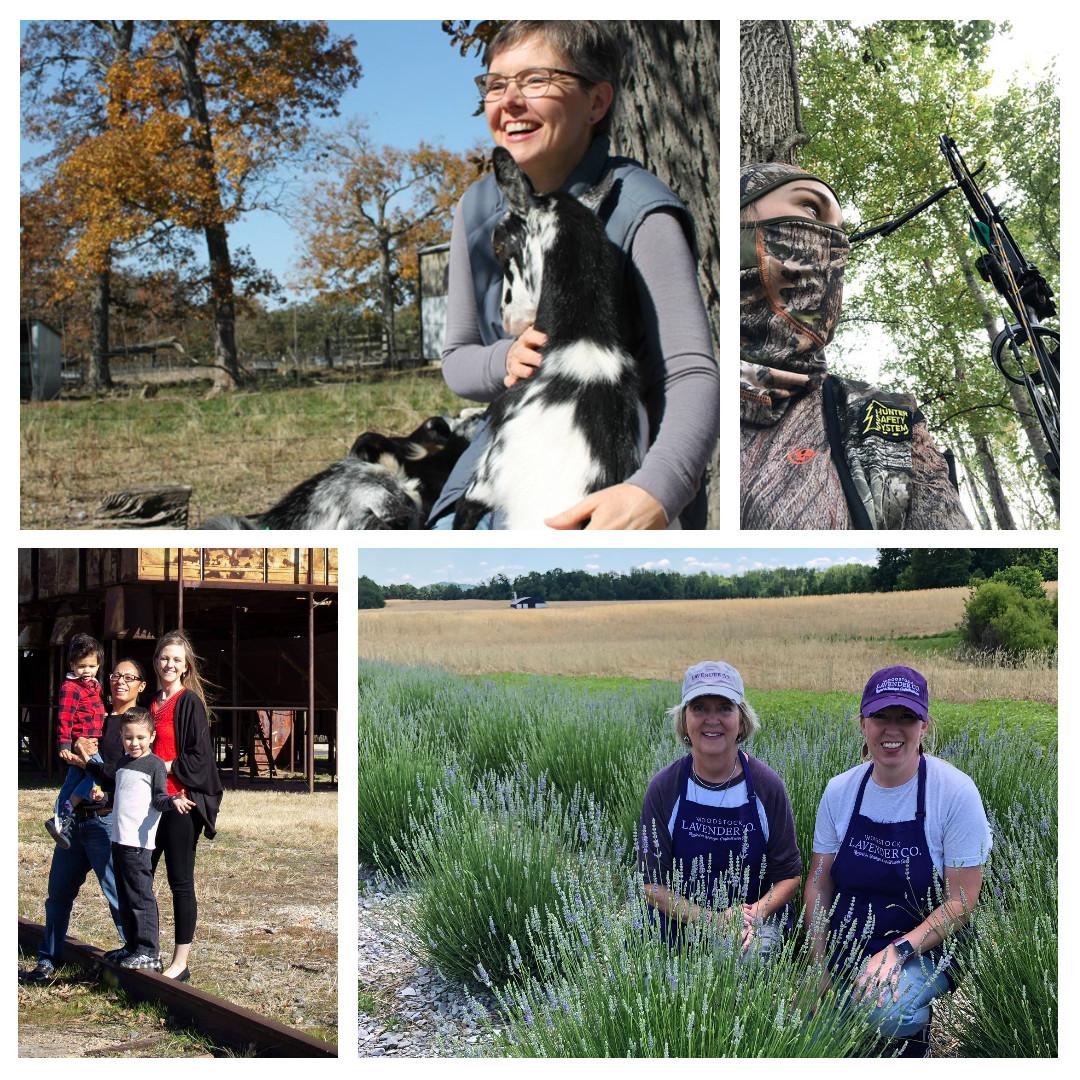 Celebrating Female Farmers, Homesteaders, Sportswomen and Rural Entrepreneurs