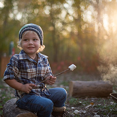Build a campfire for free play