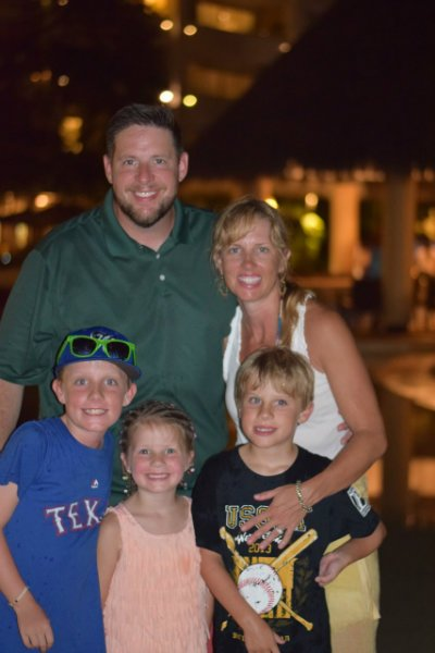 rogers family left dallas for country life
