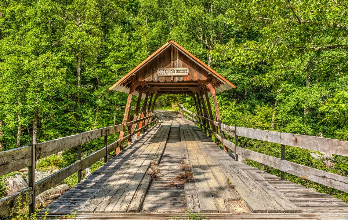Old Union Crossing Covered Bridge