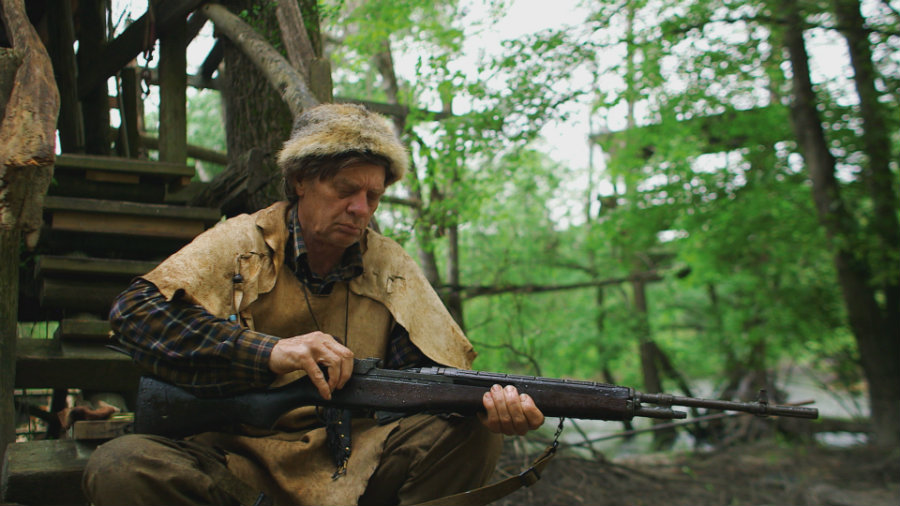 VALDOSTA, GA.- Colbert with his rifle