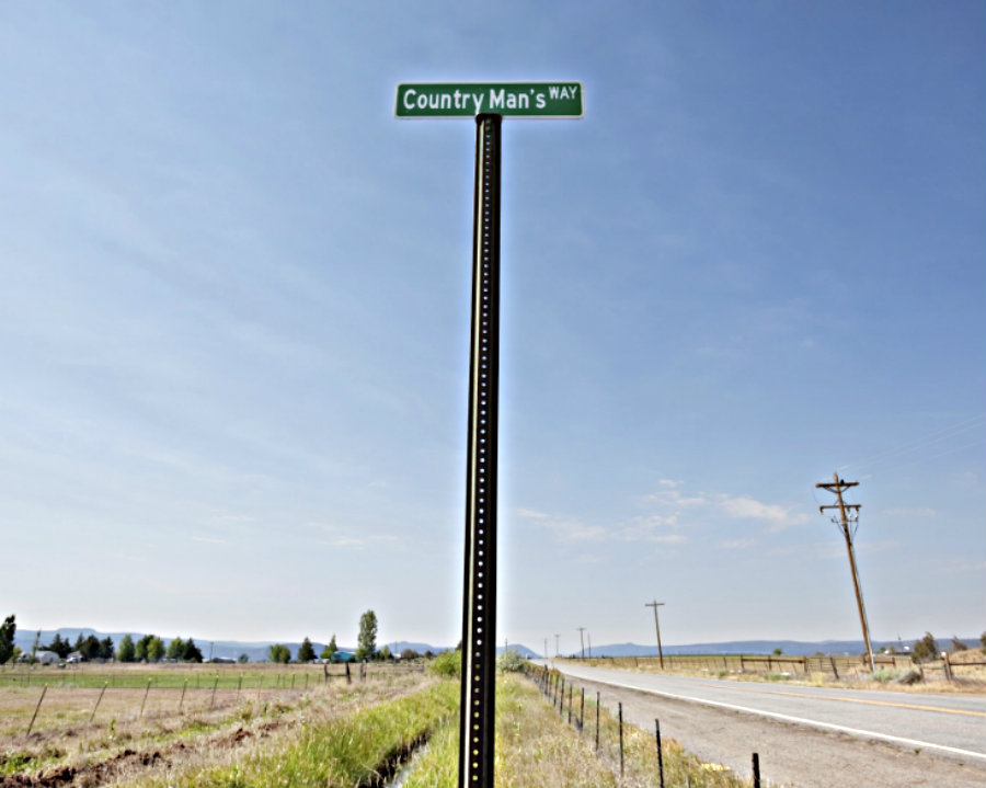 country road with funny name