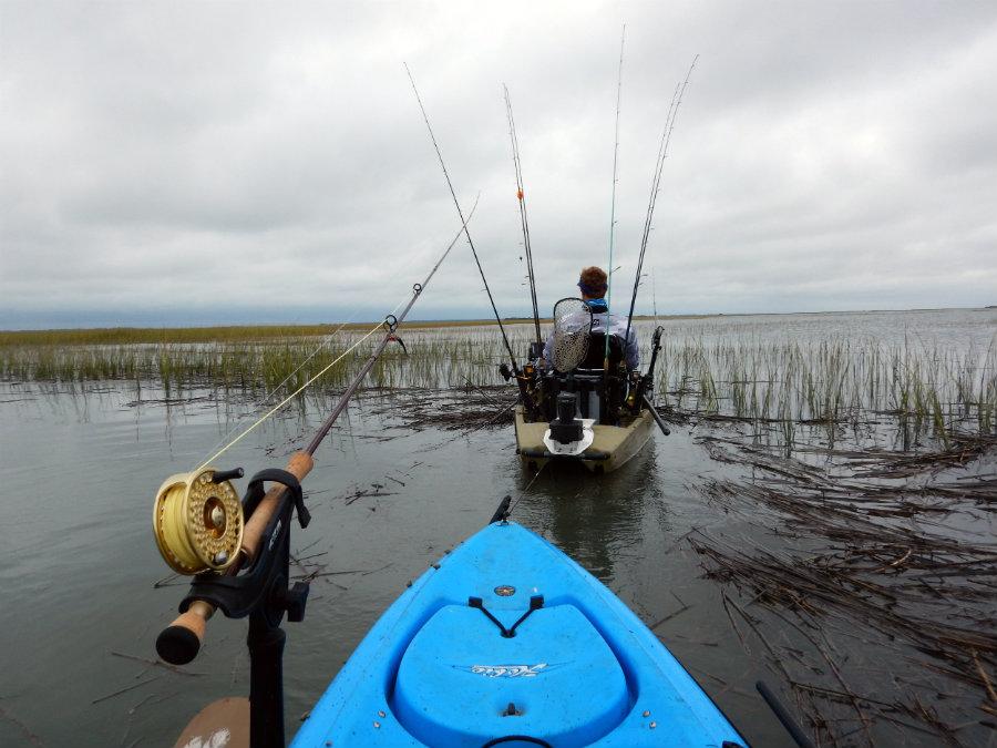 charter fishing for redfish south carolina