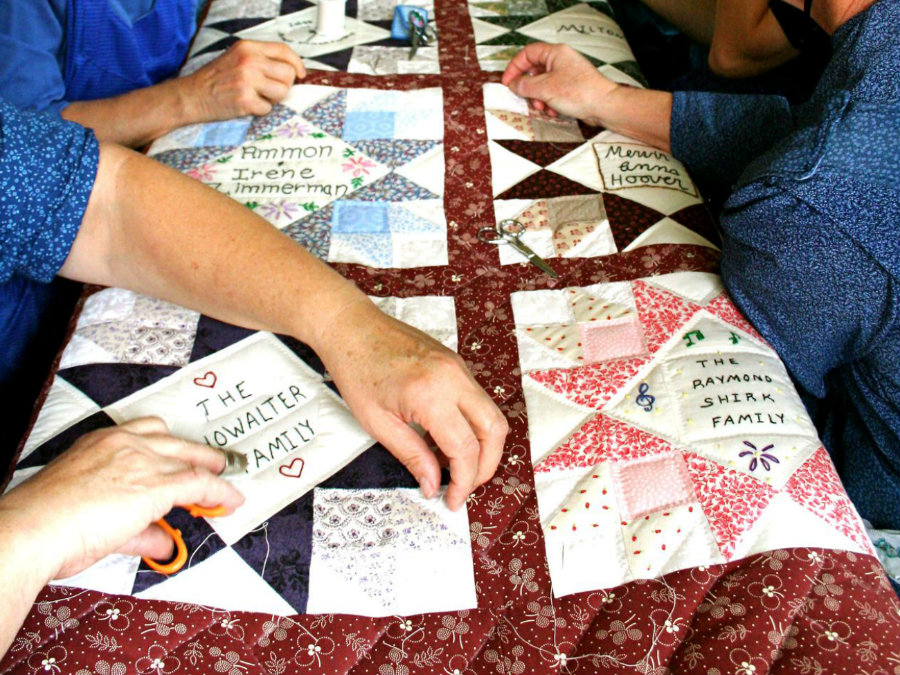 old order mennonite quilting bee
