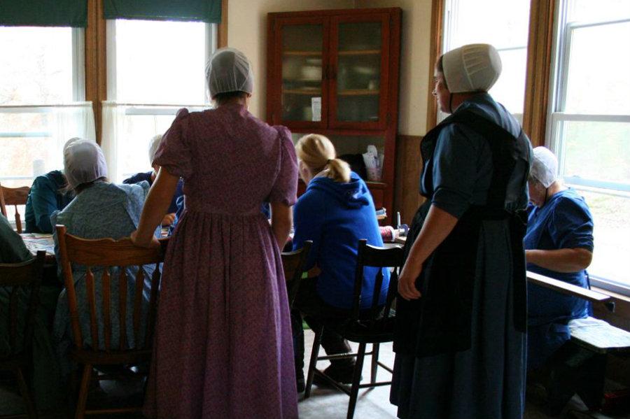 Old Order Mennonite Quilting