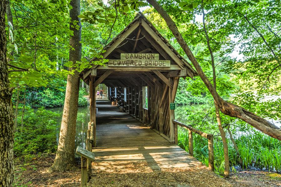 Cambron Covered Bridge