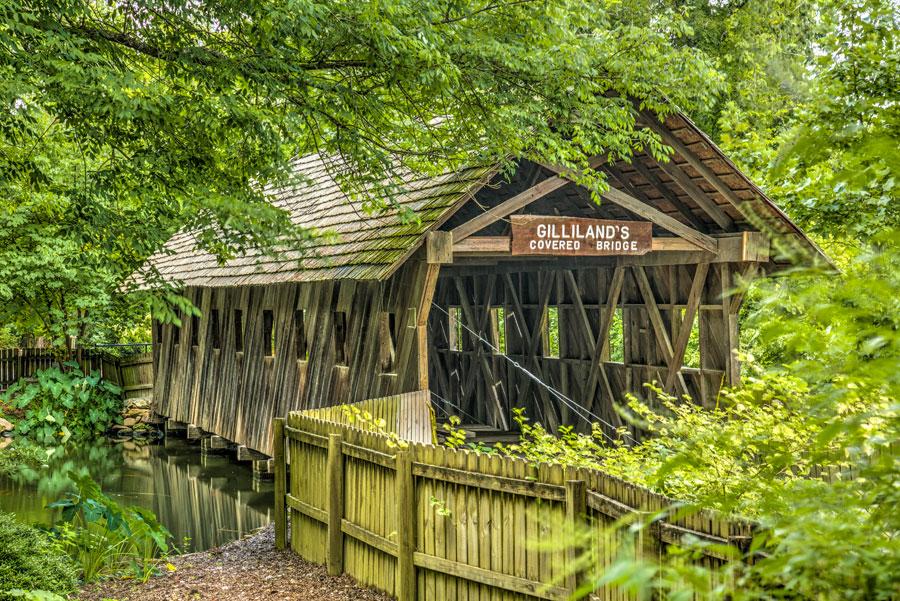 Gillaland's Reese Covered Bridge
