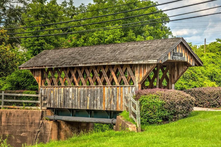 Horace King Covered Bridge