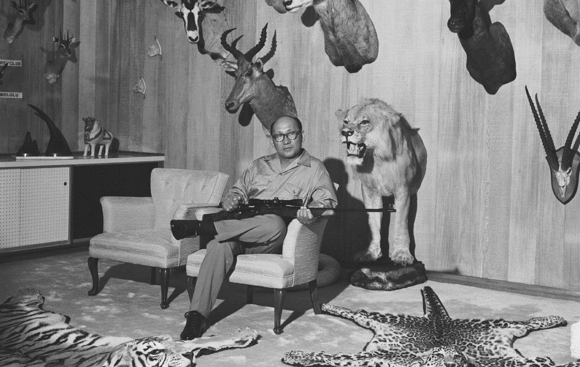 It's never easy choosing a taxidermist
