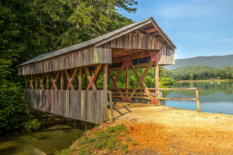 Saunders Mill Covered Bridge