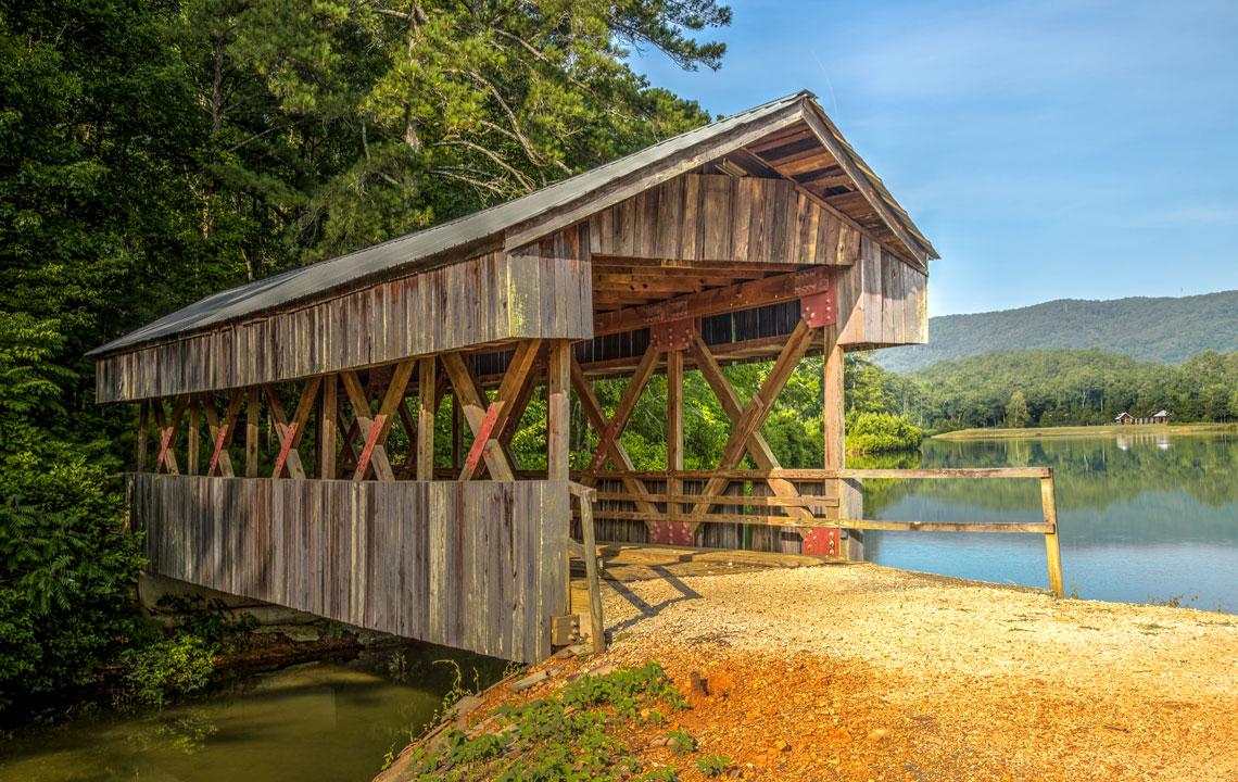 Bob Saunders Family Covered Bridge