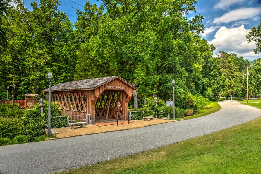 Salem Shotwell Covered Bridge Opelika Alabama