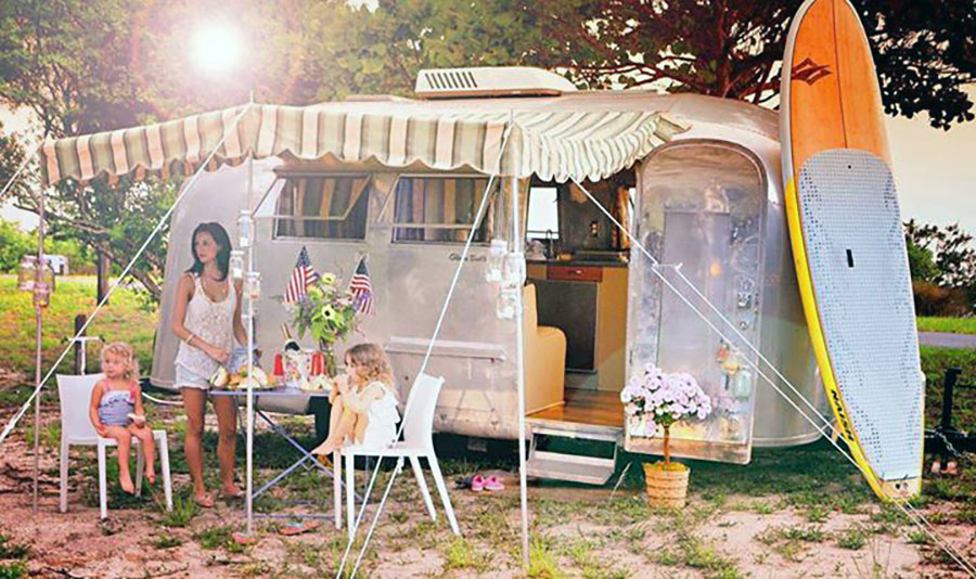 Go glamping in an Airstream camper near Tampa