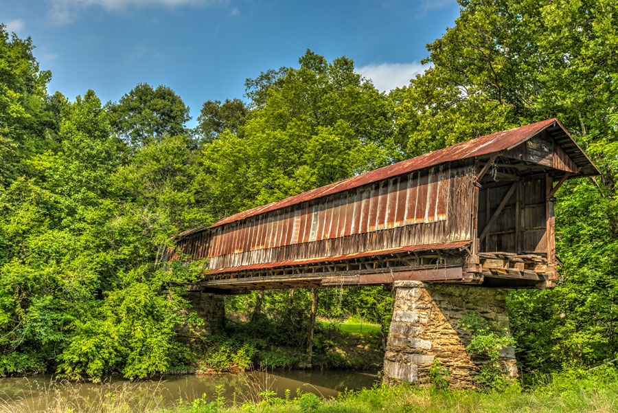 Waldo Covered Bridge Waldo Alabama