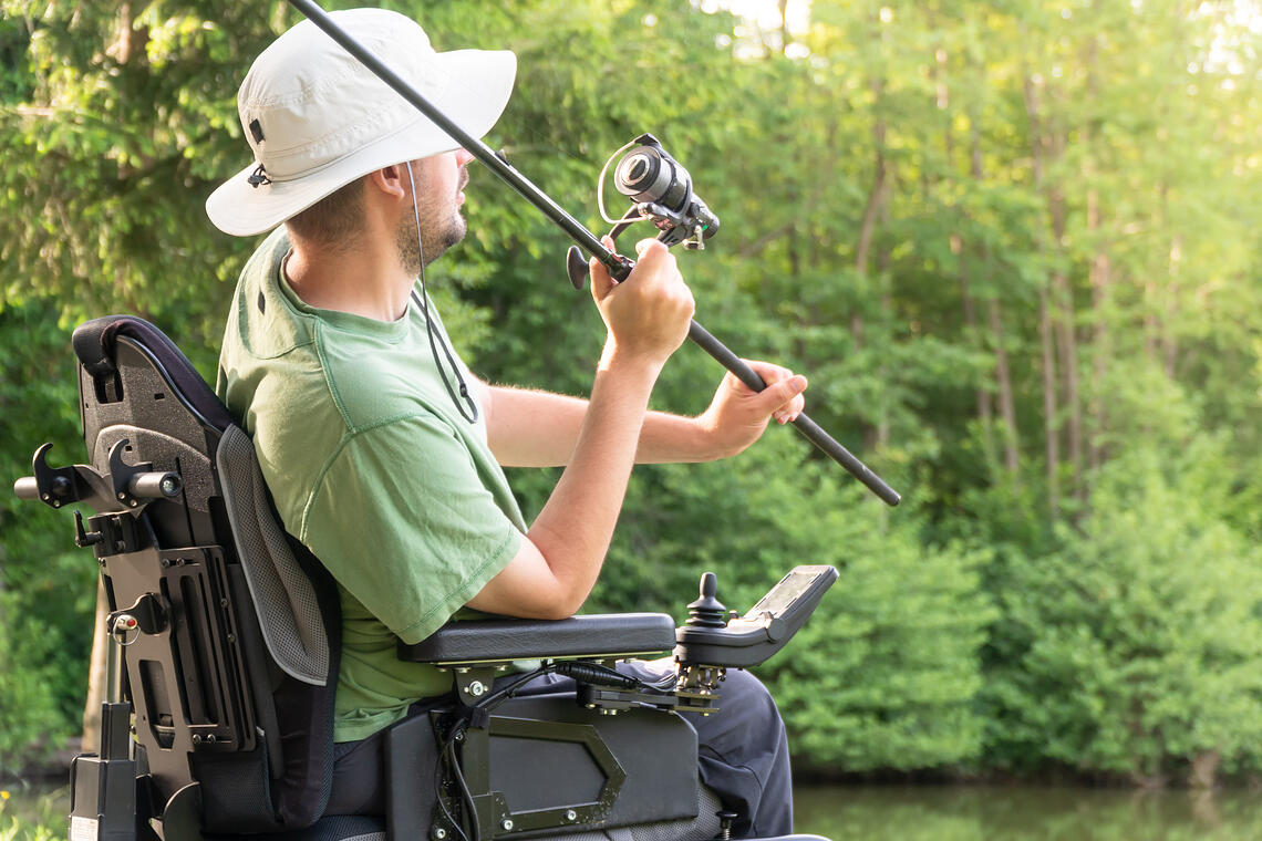 how fly fishing is helping veterans