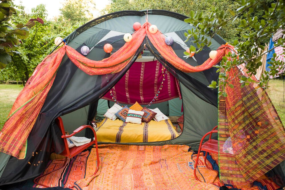 Glamping in the South