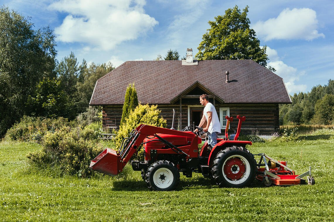 must have tools, toys and tractors for rural acreage