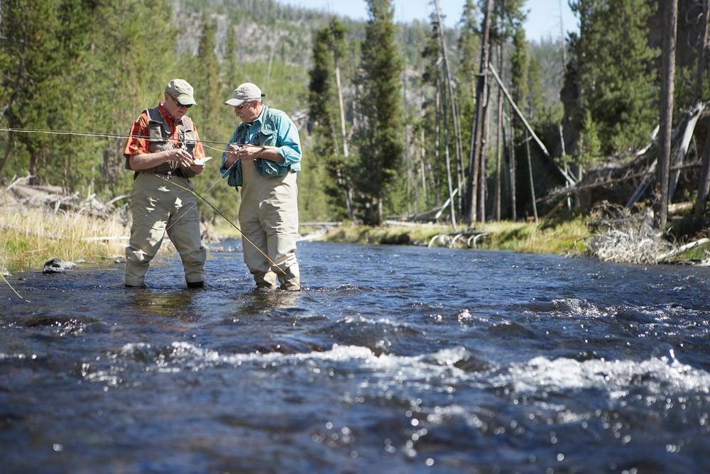 fly fishing for veterans