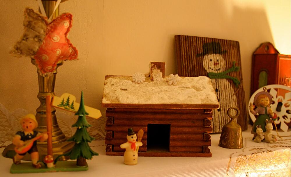 Handmade toys for old christmas