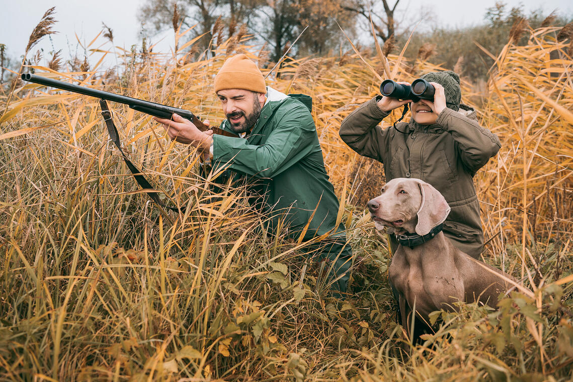 how to hunt with kids