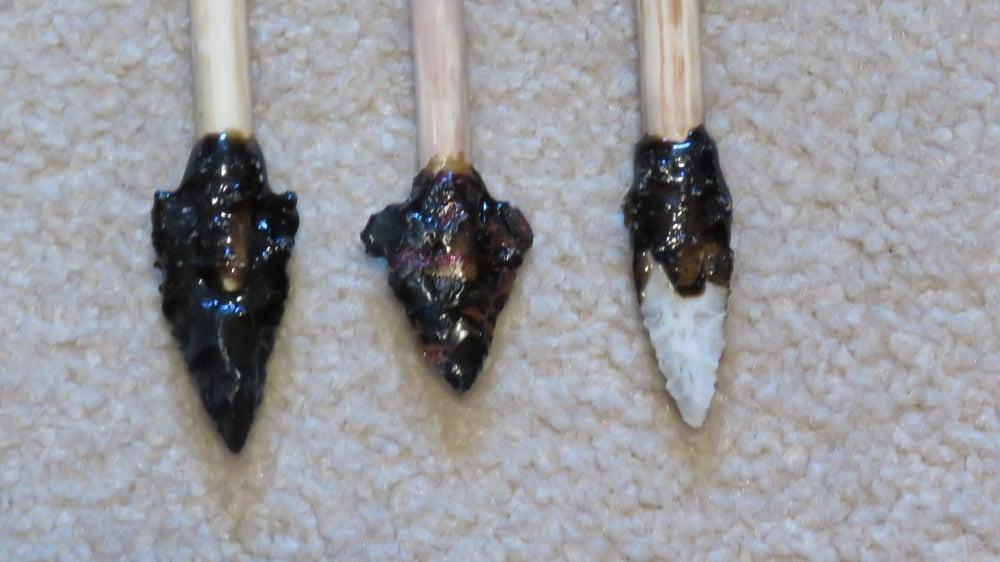 Primitive arrowheads