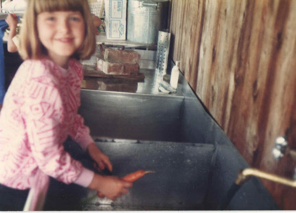 Washing carrots-1