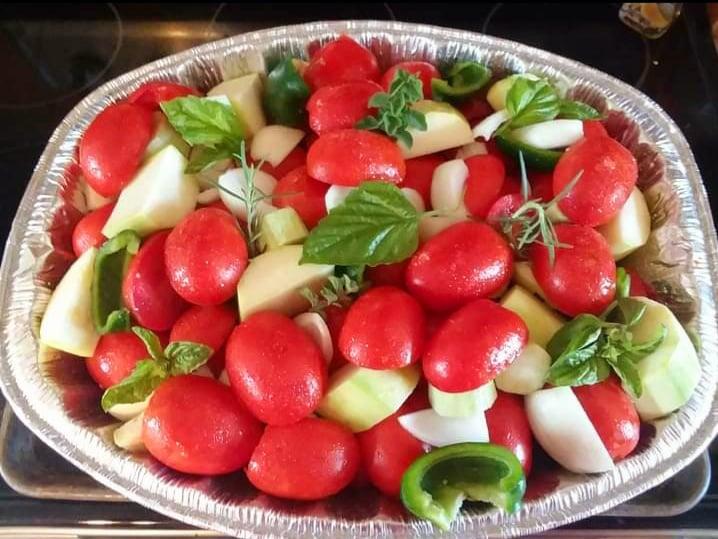 veggies for pasta sauce