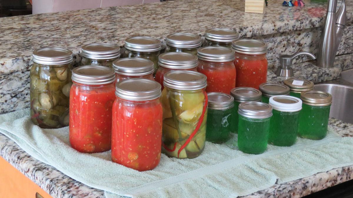 Five Food Preservation Methods to Help Extend Your Summer Garden Enjoyment