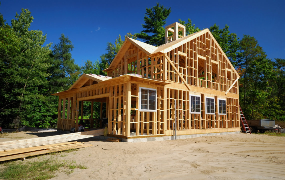 Where to build your house on your land