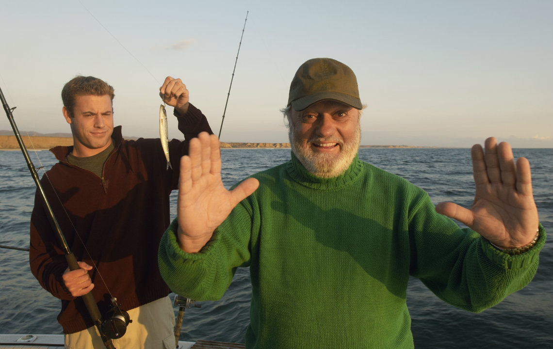 The legend of fish stories: Can fishermen be honest?