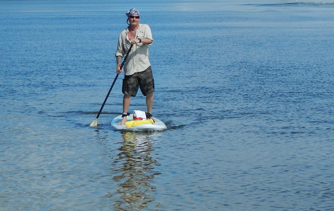Stand-Up Paddleboard Offers Intimate Nature Encounters