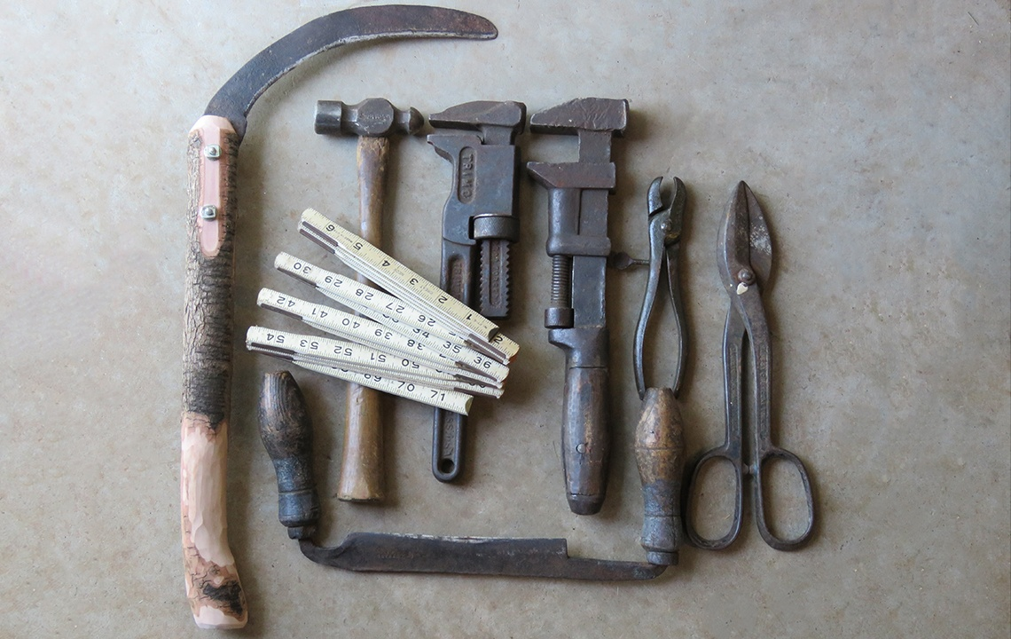 Hand Tools of Days Gone By In Rural Farm Life