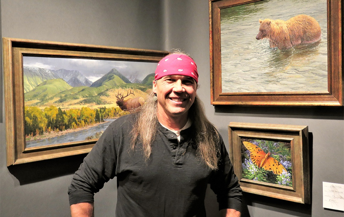 Montana Artist Makes a Living Painting in Nature